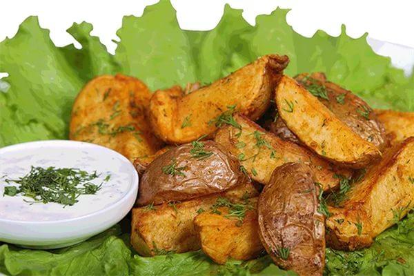 Как приготовить картошку по-селянски дома