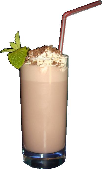 Как сделать молочный с шоколадом коктейль