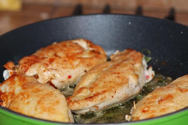 куриная грудка на сковороде рецепты с фото