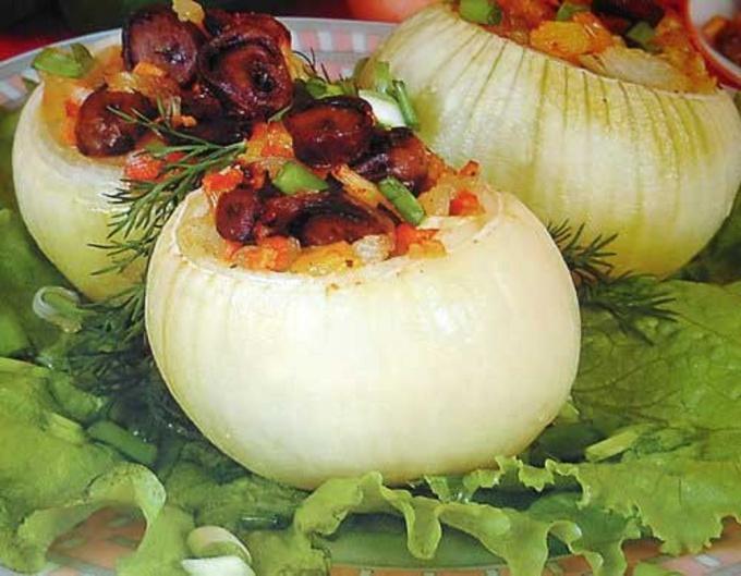 Блюда с луком рецепт
