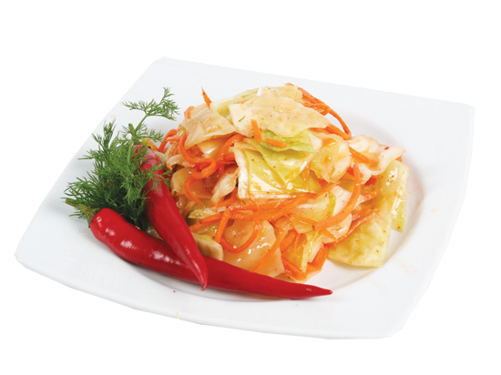 Корейский салат капуста морковь