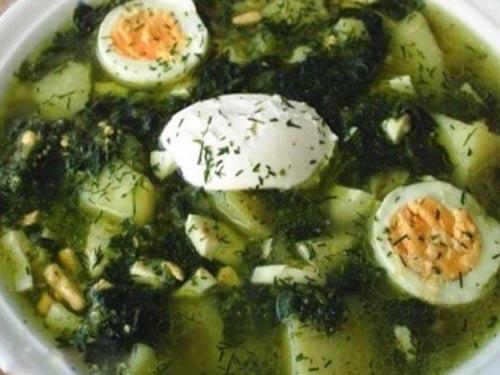 Зеленые щи - рецепты