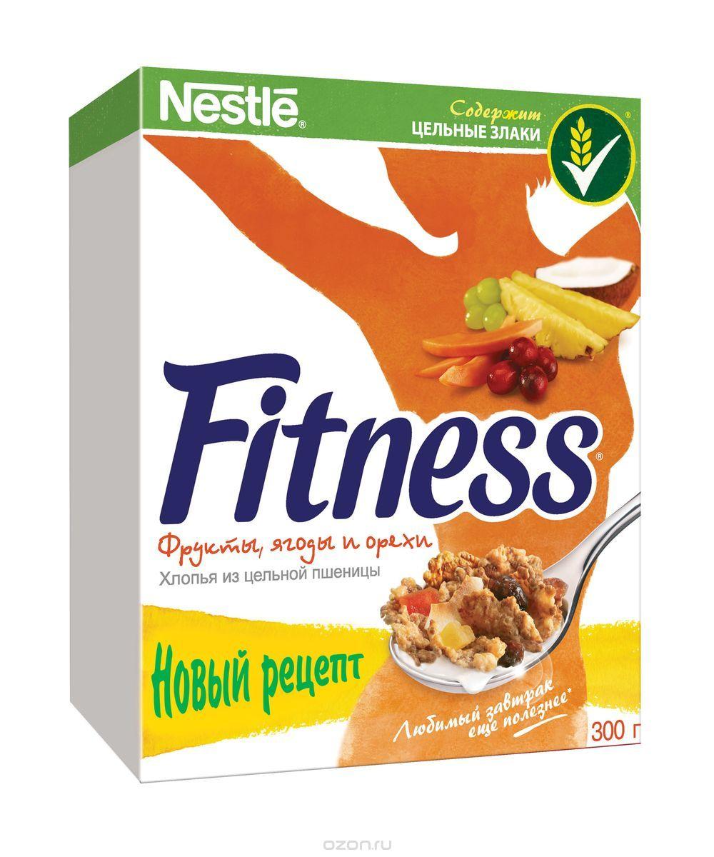 3aca47932e97 Хлопья Nestle Fitness с фруктами  калорийность на 100 грамм — 352 ...