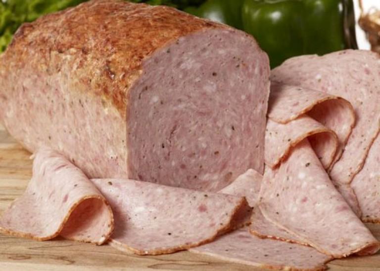 мясной хлеб из фарша рецепт с фото