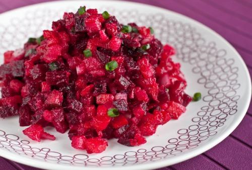 Винегрет овощной с сельдью пищевая и энергетическая ценность