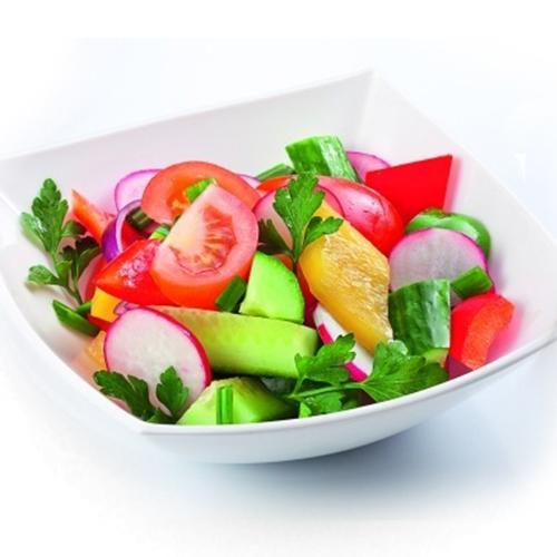 Салат из овощей свежих