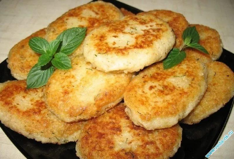 Котлеты из картофеля калорийность на 100 грамм