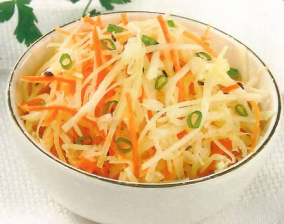 Салат из редьки с фото