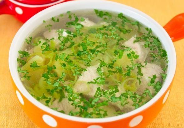 Суп индейки пошаговый рецепт с фото