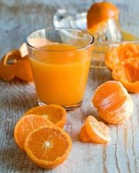 Как из мандаринов сделать сок из