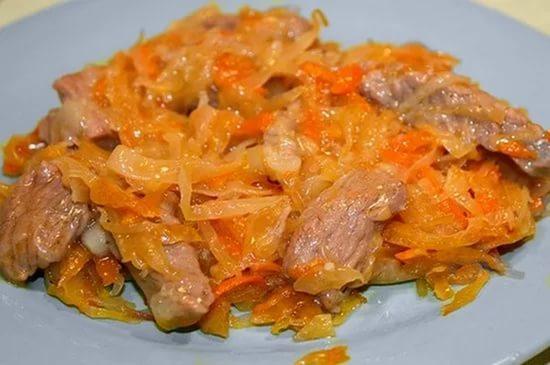вторые блюда из капусты и мяса